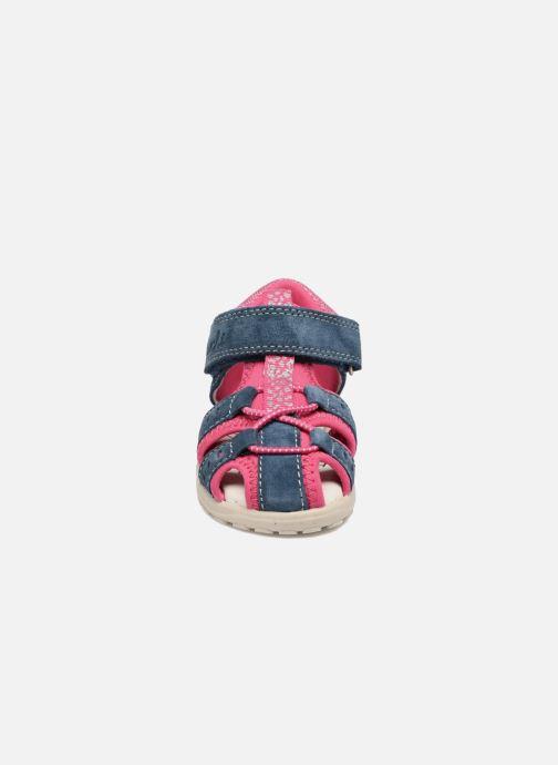 Sandali e scarpe aperte Lurchi by Salamander Maxy Azzurro modello indossato