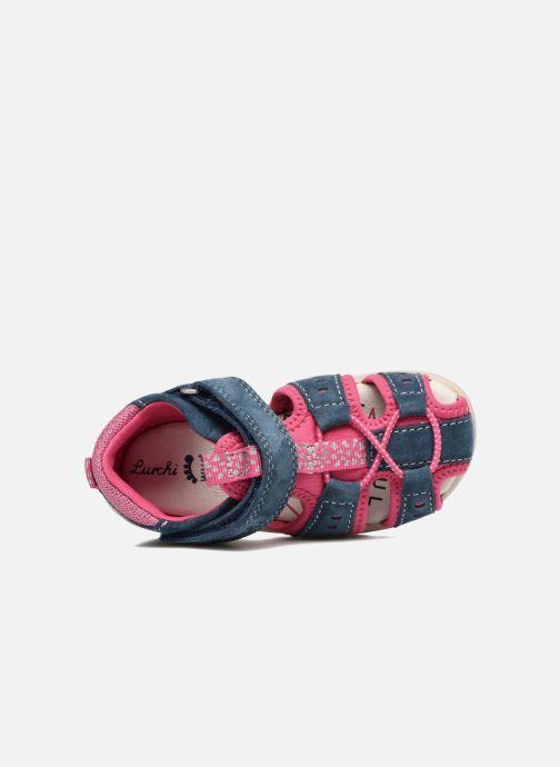 Sandales et nu-pieds Lurchi by Salamander Maxy Bleu vue gauche
