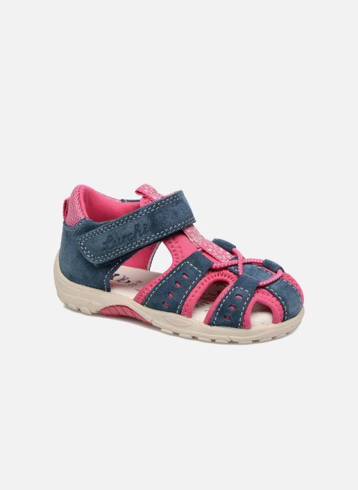 Sandales et nu-pieds Lurchi by Salamander Maxy Bleu vue détail/paire