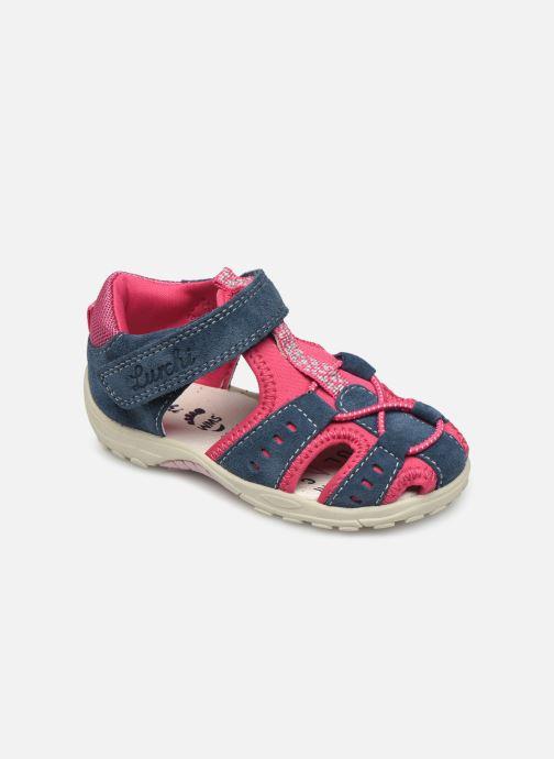 Sandaler Lurchi by Salamander Maxy Blå detaljeret billede af skoene