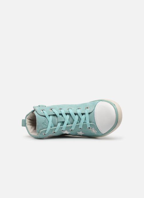Sneaker Lurchi by Salamander Starlet blau ansicht von links