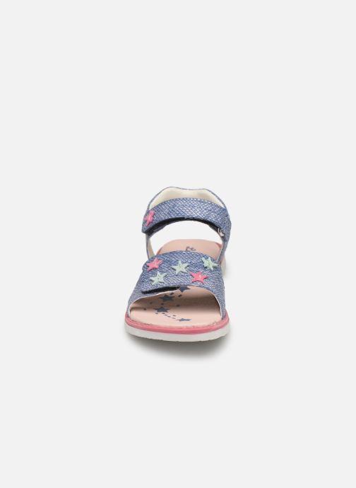 Sandales et nu-pieds Lurchi by Salamander Lulu Bleu vue portées chaussures