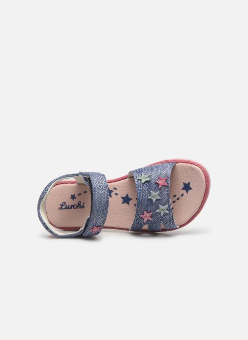 Sandales et nu-pieds Lurchi by Salamander Lulu Bleu vue gauche