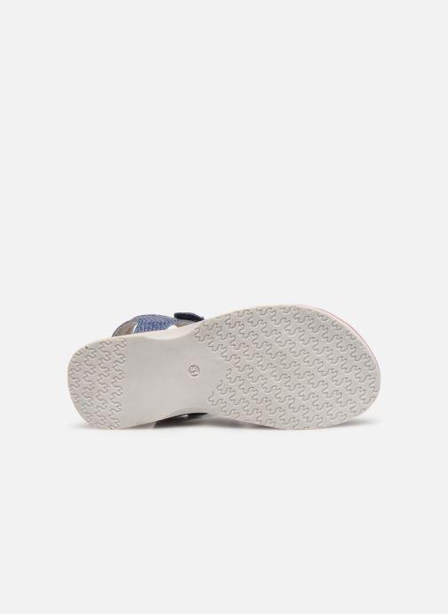 Sandales et nu-pieds Lurchi by Salamander Lulu Bleu vue haut
