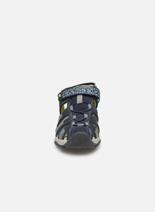 Sandales et nu-pieds Lurchi by Salamander Bobby Bleu vue portées chaussures