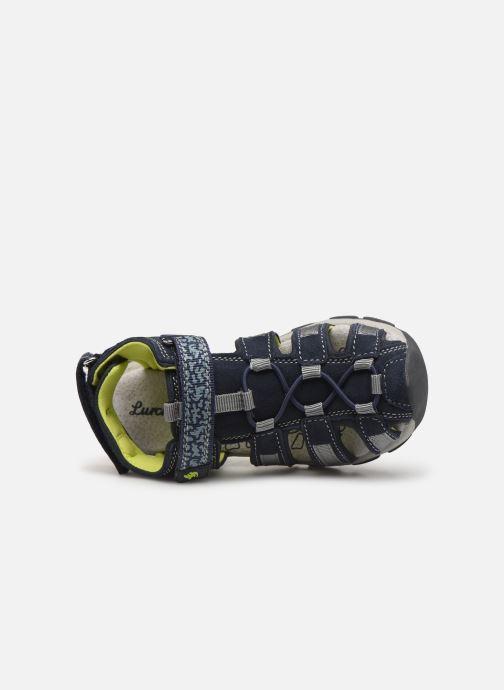 Sandales et nu-pieds Lurchi by Salamander Bobby Bleu vue gauche