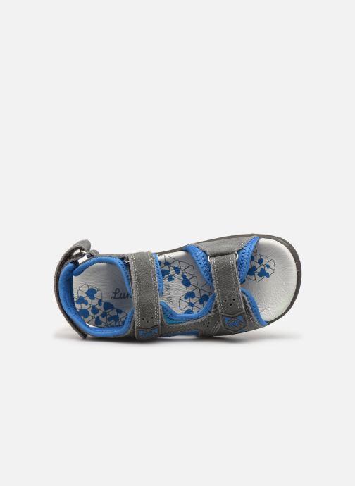 Sandales et nu-pieds Lurchi by Salamander Kreon Gris vue gauche