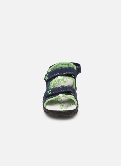 Sandales et nu-pieds Lurchi by Salamander Kreon Bleu vue portées chaussures
