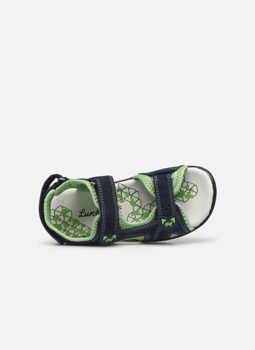 Sandales et nu-pieds Lurchi by Salamander Kreon Bleu vue gauche