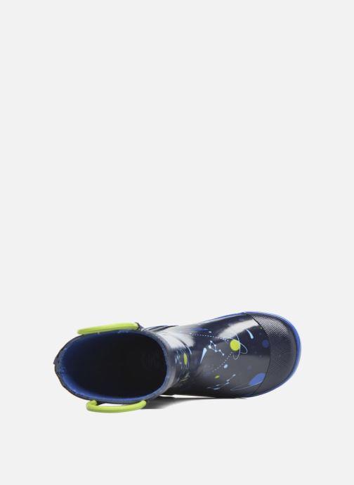 Stiefel Kamik Orbit blau ansicht von links