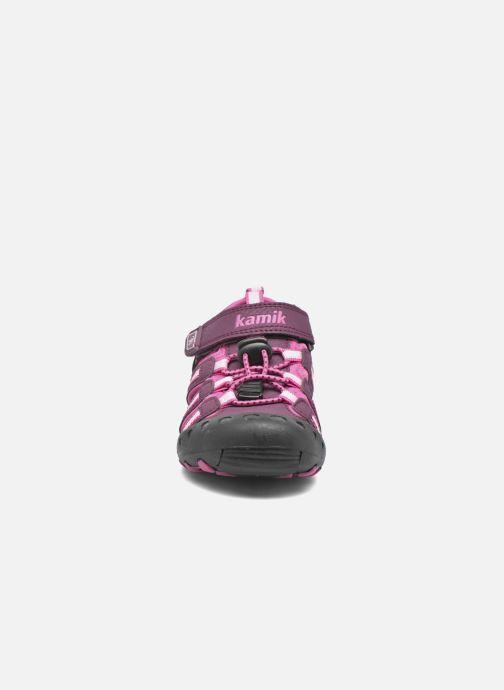 Sandales et nu-pieds Kamik Crab Violet vue portées chaussures