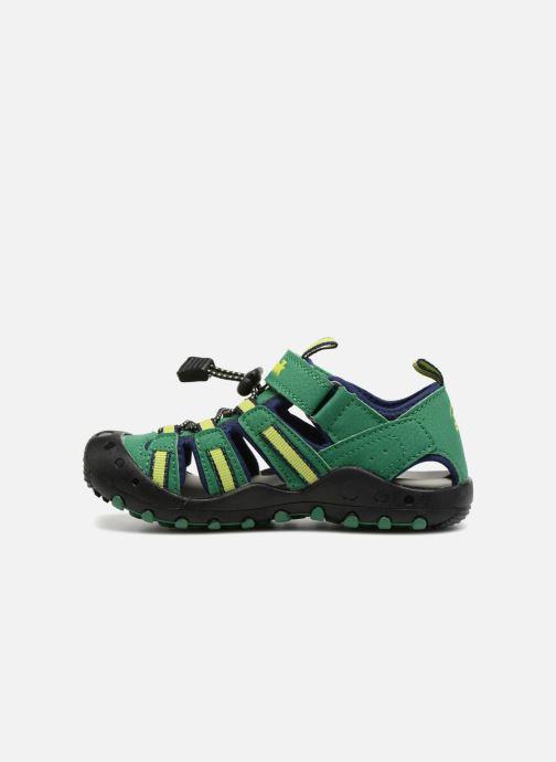 Sandales et nu-pieds Kamik Crab Vert vue face