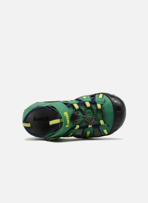 Sandales et nu-pieds Kamik Crab Vert vue gauche