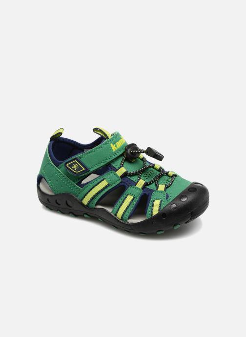 Sandales et nu-pieds Kamik Crab Vert vue détail/paire