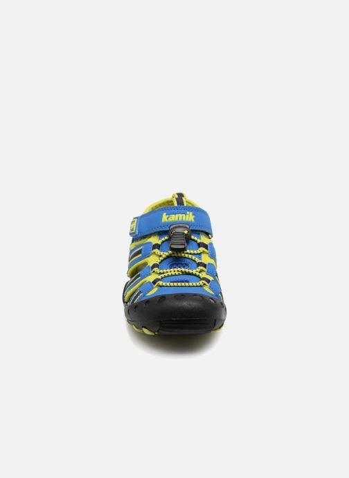 Sandalen Kamik Crab blau schuhe getragen
