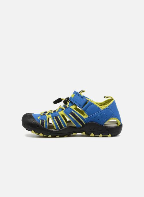 Sandales et nu-pieds Kamik Crab Bleu vue face