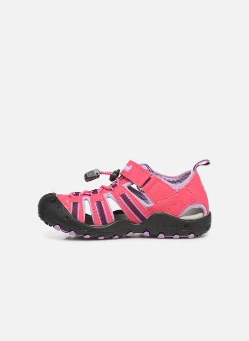 Sandalen Kamik Crab rosa ansicht von vorne