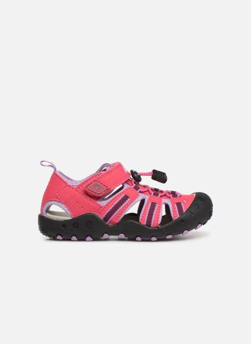 Sandalen Kamik Crab rosa ansicht von hinten