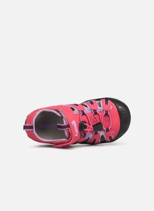 Sandalen Kamik Crab rosa ansicht von links