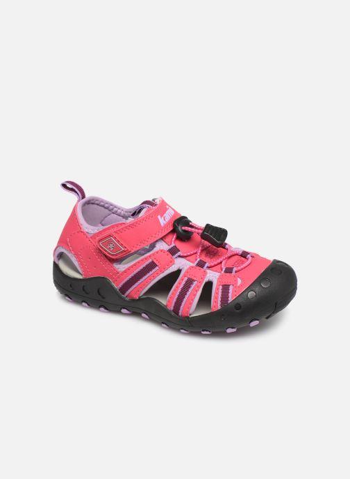 Sandales et nu-pieds Kamik Crab Rose vue détail/paire