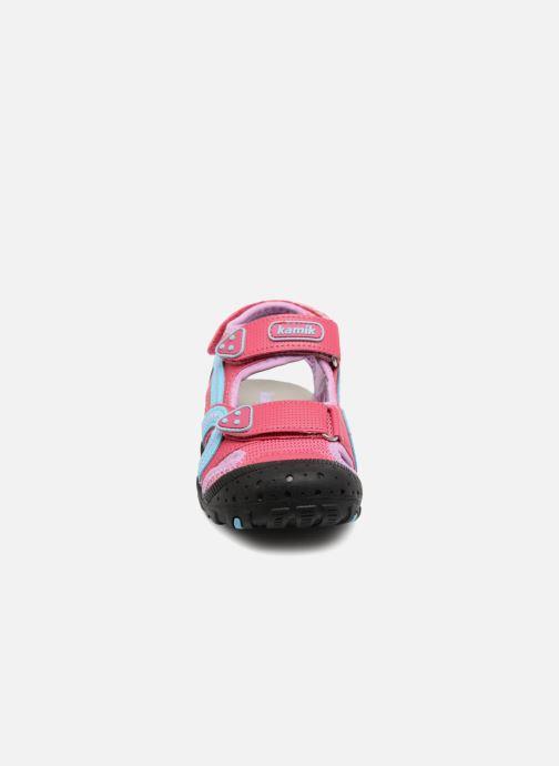Sandales et nu-pieds Kamik Seaturtle Rose vue portées chaussures