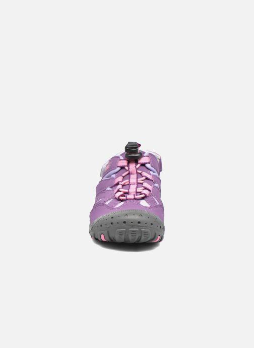 Sandales et nu-pieds Kamik Oyster Violet vue portées chaussures