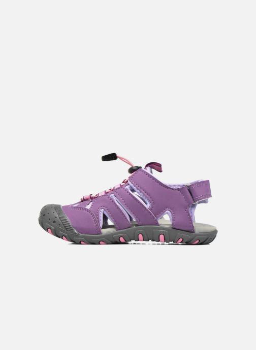 Sandales et nu-pieds Kamik Oyster Violet vue face