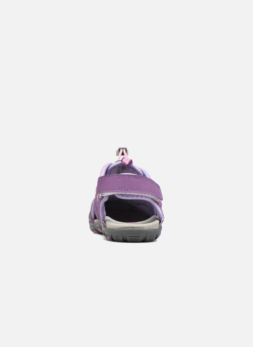 Sandales et nu-pieds Kamik Oyster Violet vue droite