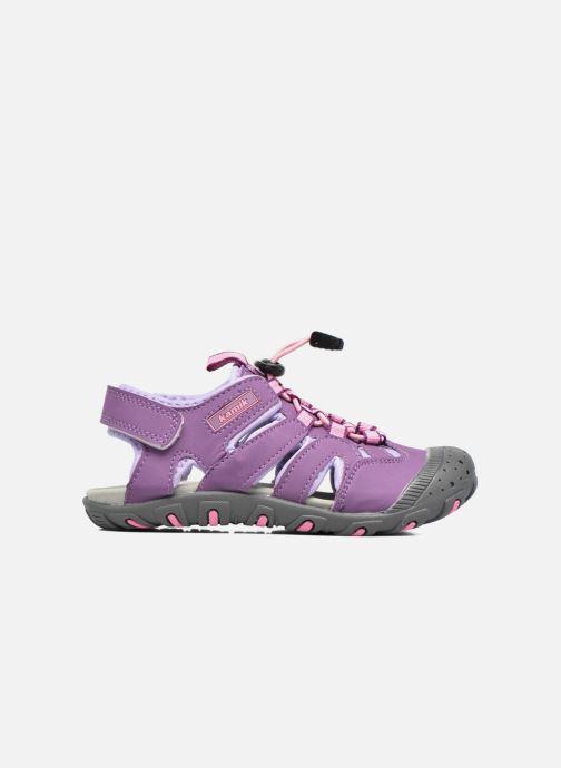 Sandales et nu-pieds Kamik Oyster Violet vue derrière