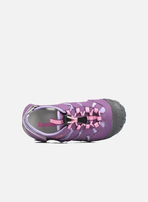 Sandales et nu-pieds Kamik Oyster Violet vue gauche