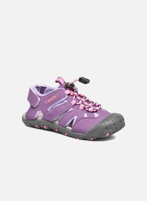 Sandales et nu-pieds Kamik Oyster Violet vue détail/paire