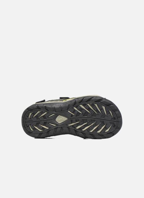 Sandales et nu-pieds Kamik Lobster Noir vue haut
