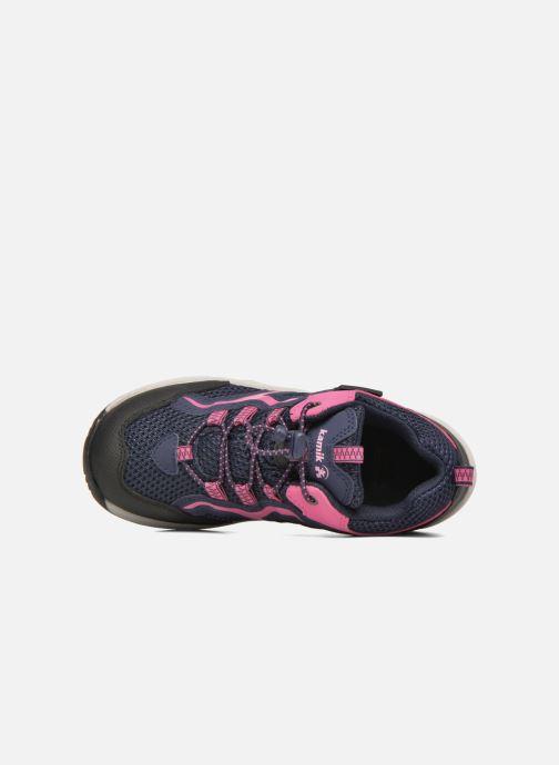 Chaussures de sport Kamik Groove Rose vue gauche