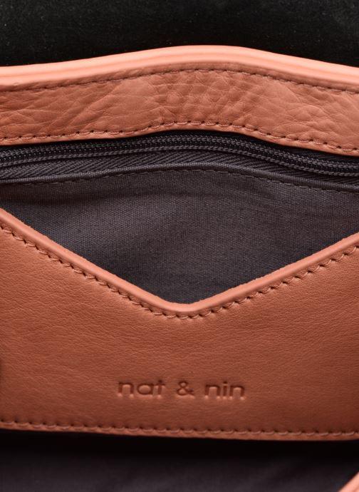 Sacs pochettes Nat & Nin Capri Rose vue derrière