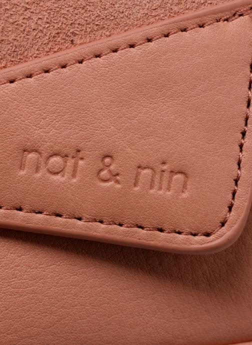 Sacs pochettes Nat & Nin Capri Rose vue gauche