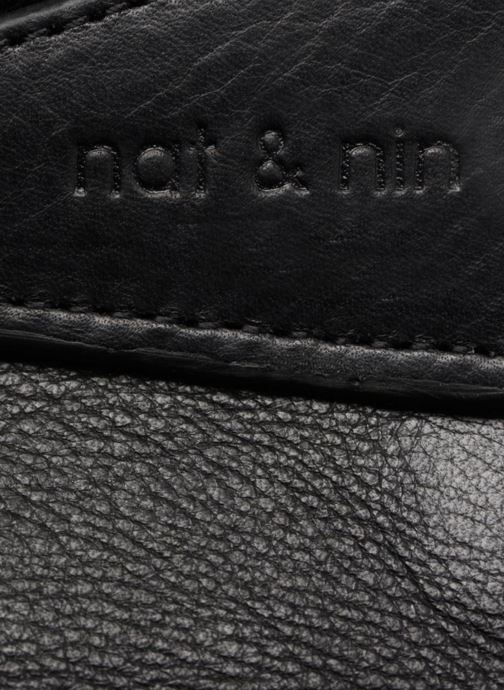 Bolsos Clutch Nat & Nin Capri Negro vista lateral izquierda
