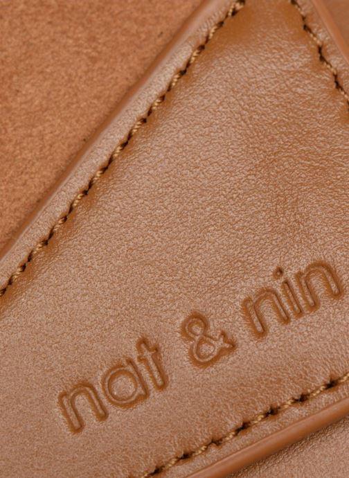 Sacs pochettes Nat & Nin Capri Marron vue gauche