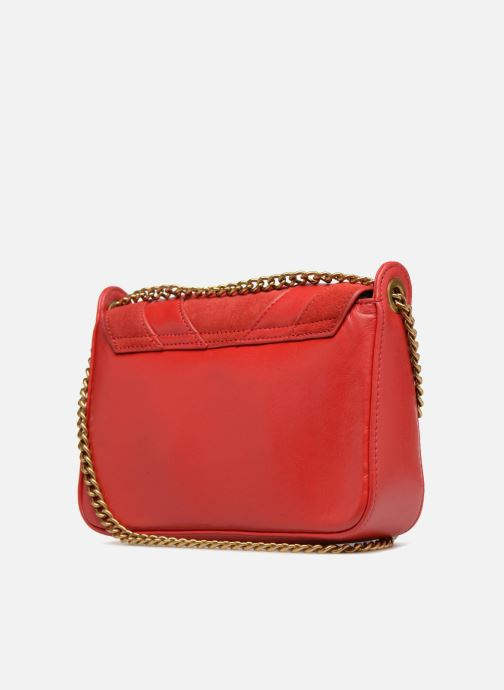 Clutch bags Nat & Nin Capri Red view from the right