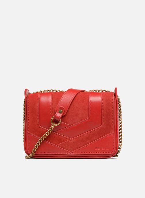 Clutch bags Nat & Nin Capri Red detailed view/ Pair view