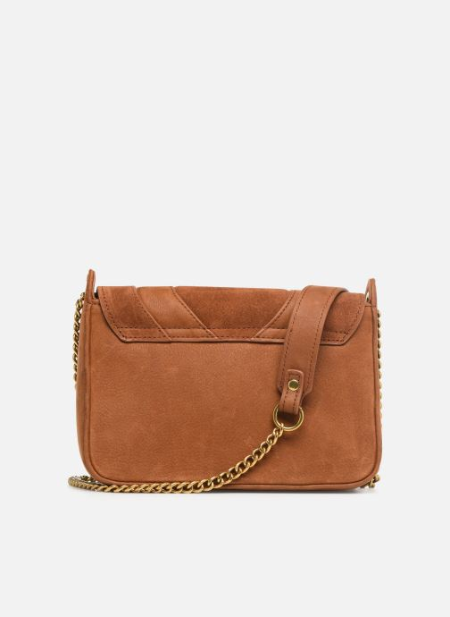 Bolsos Clutch Nat & Nin Capri Marrón vista de frente
