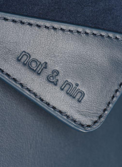 Sacs pochettes Nat & Nin Capri Bleu vue gauche