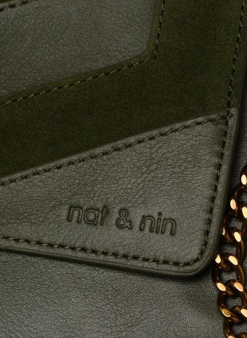 Sacs pochettes Nat & Nin Capri Vert vue gauche
