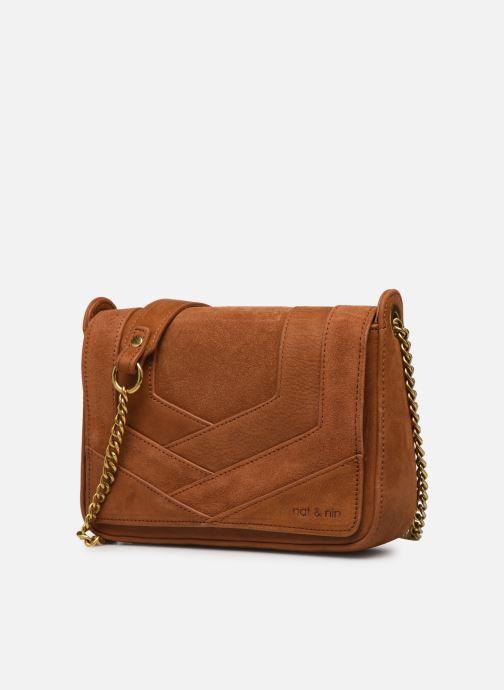 Clutch bags Nat & Nin Capri Brown model view