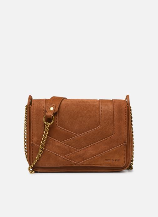 Clutch bags Nat & Nin Capri Brown detailed view/ Pair view
