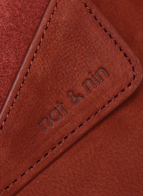 Sacs pochettes Nat & Nin Capri Rouge vue derrière