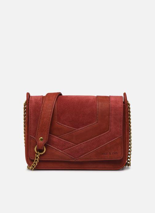 Sacs pochettes Nat & Nin Capri Rouge vue détail/paire