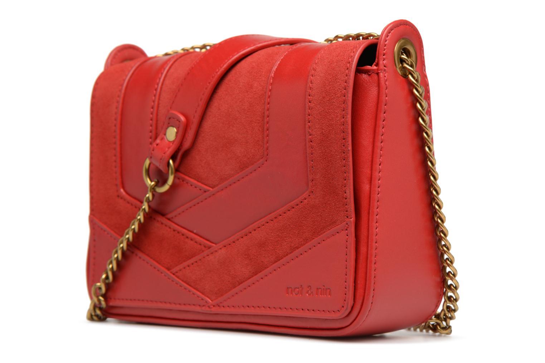 Mini Bags Nat & Nin Capri rot schuhe getragen