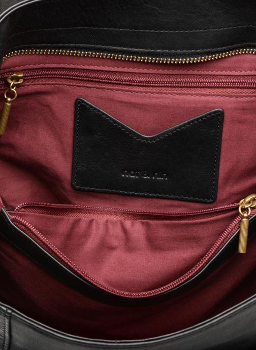 Handtassen Nat & Nin Chiara Zwart achterkant