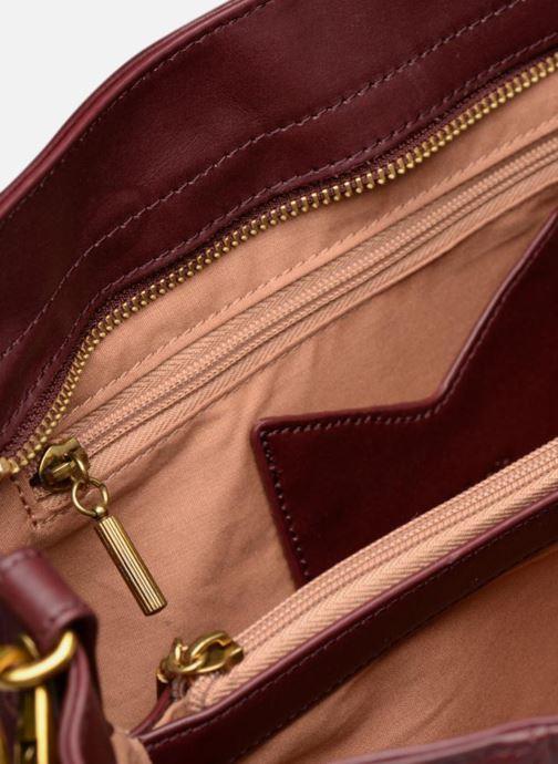 Handtaschen Nat & Nin Chiara weinrot ansicht von hinten