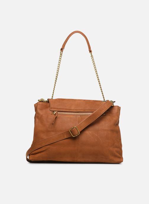 Handtaschen Nat & Nin Chiara braun ansicht von vorne